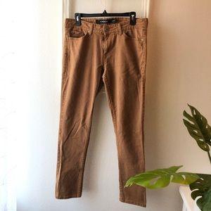 Jordache brown skinny jeans